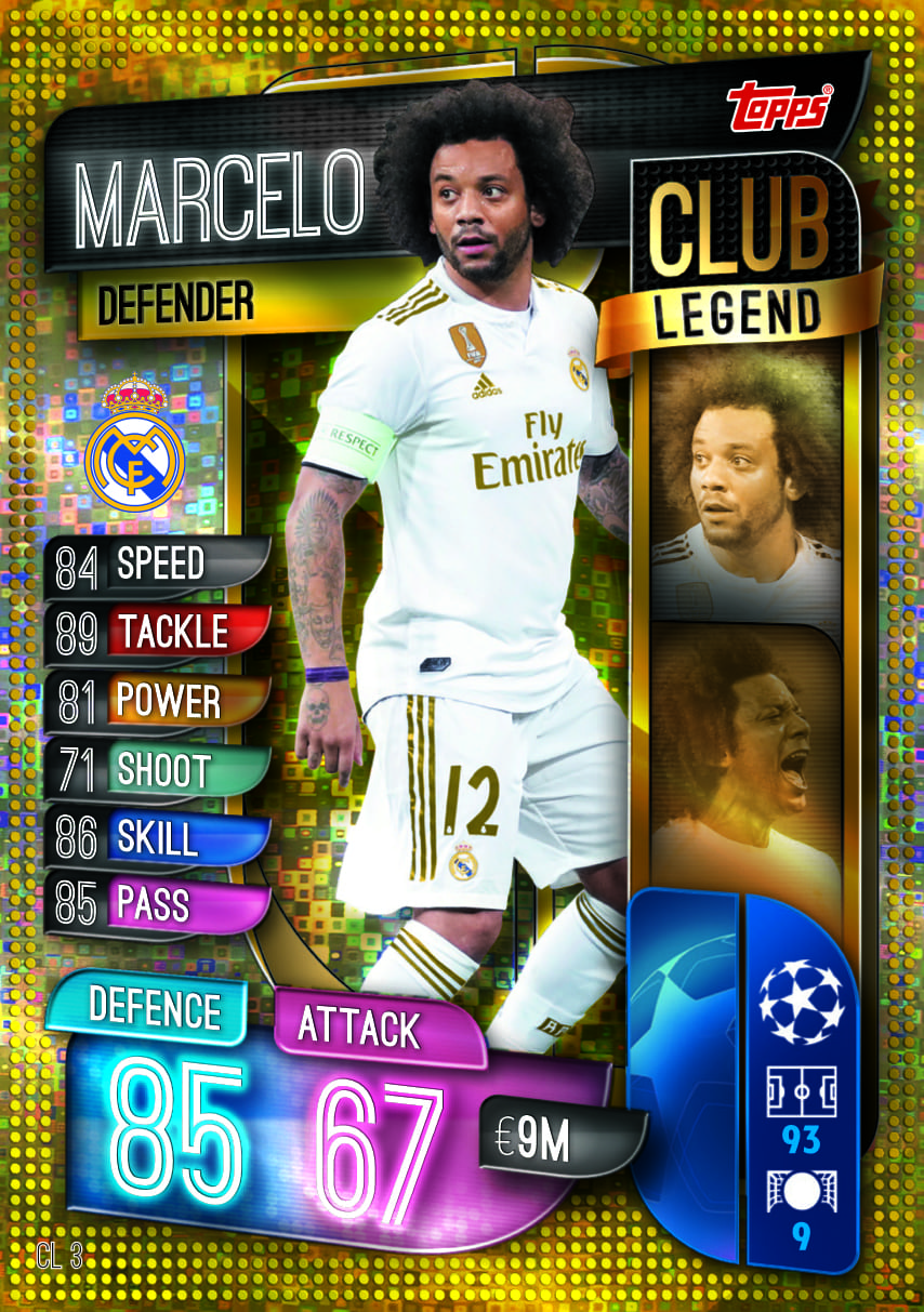 CLUB LEGENDS CARDS