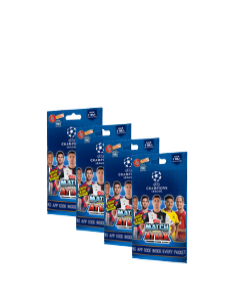 UCL Match Attax Multi Pack (Pack of 4)