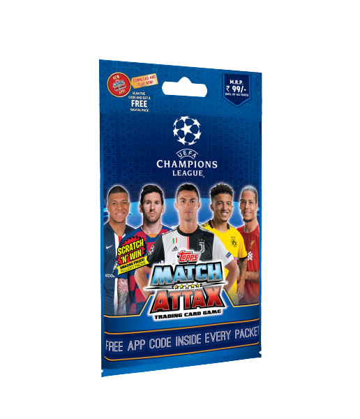UCL Match Attax Pack