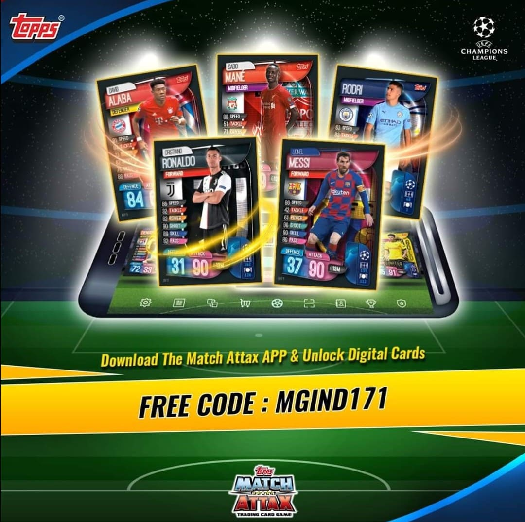 Have you tried the new Match Attax app?