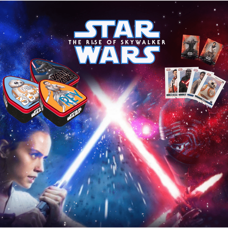 Star Wars Trading Cards are here!